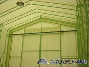ジャバラテント倉庫2