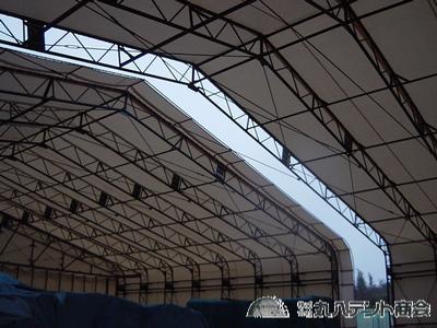 可動式テント倉庫2
