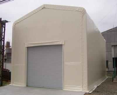 不燃材テント倉庫