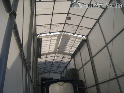 建築確認申請型テント倉庫4