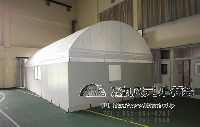 組立式R型パワーテント