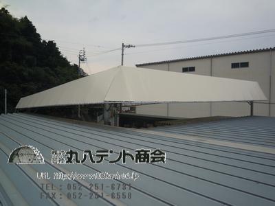 屋根テント