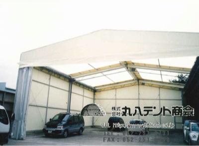 開閉テント