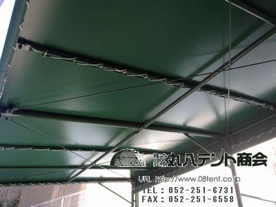 駐輪場テント3