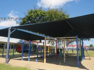 blog295 オーストラリア 公園テント