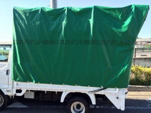 blog284 トラックシート 幌 エステル帆布