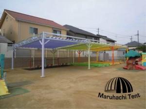 blog276 公園  砂場 テント