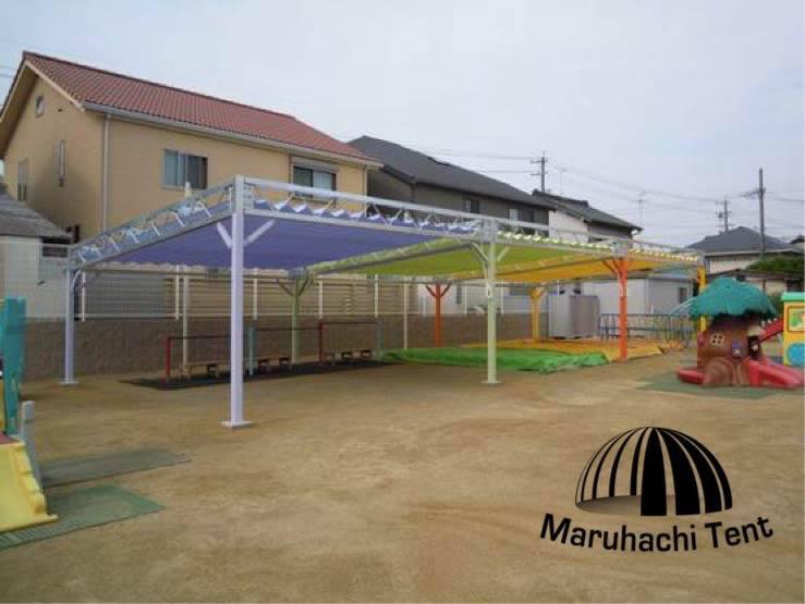 幼稚園 砂場テント