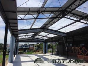 blog287 開閉テント レストラン