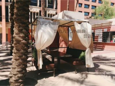 アメリカ アリゾナ 休憩所テント