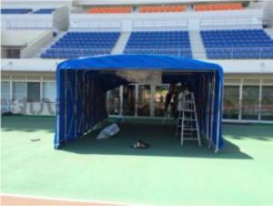 ジャバラ 通路用テント