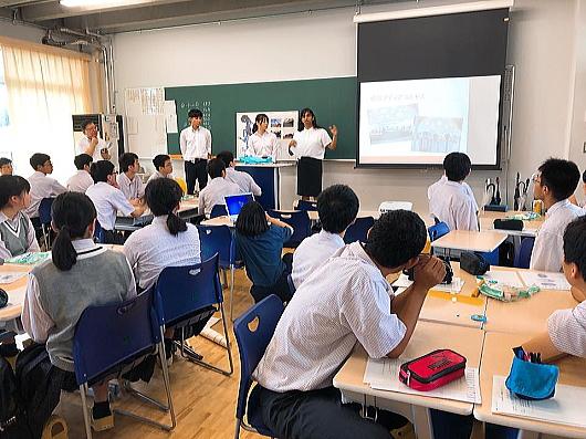 愛知総合工科高校 社会人講師